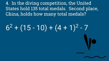 Olympics Order of Operations