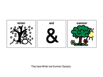 Olympics PECS book