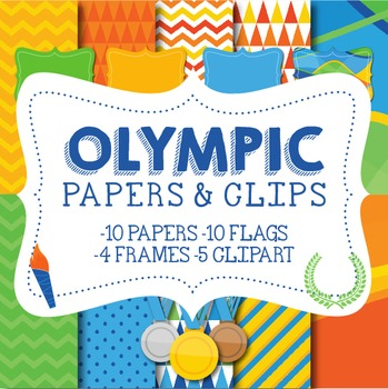 Olympics Papers & Clips