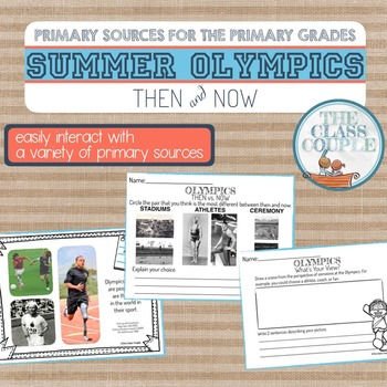 Olympics Primary Sources for the Primary Grades