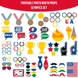 Olympics Printable Photo Booth Prop Set