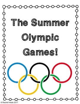 Olympics Project- Mean, Median, Mode, and Range