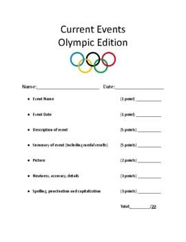 Olympics Report