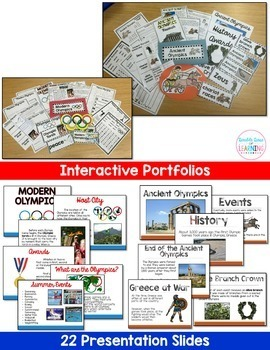 Olympics Research unit BUNDLE with PowerPoint