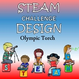 Winter Olympics STEAM Activity - Create a Torch for the Olympics