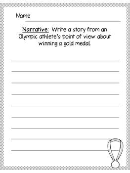 Olympics 2016 Writing Prompts