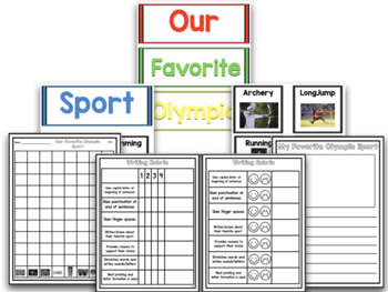 Summer Games Research Project With Math And Literacy Centers!