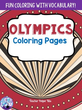Olympics-Summer Olympics 2016 Coloring