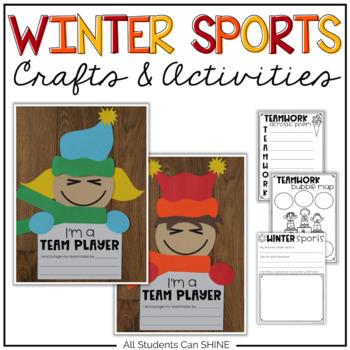Winter Games 2018 Crafts & Writing Activities