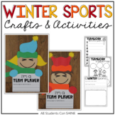 Winter Games 2018 Crafts & Writing Activities
