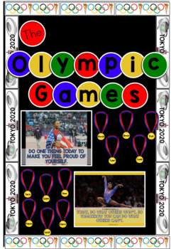 Summer Sports And Games Bulletin Board Set By Teaching In Stripes