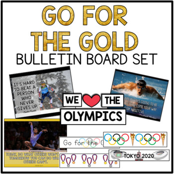 Olympics, Go for the Gold Bulletin Board Set