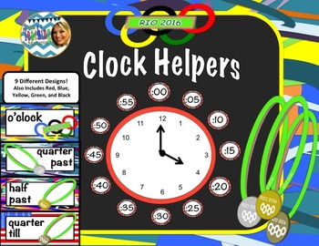 Olympics-Themed Clock Helpers