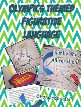 Olympics Themed Figurative Language Activity