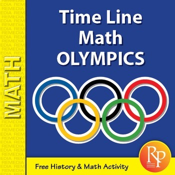Olympics Math: Time Line Word Problems {Freebie}