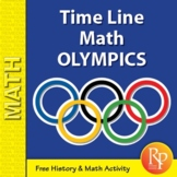 Olympics Math: Time Line Word Problems {Freebie}
