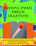 Olympics Torch Craftivity