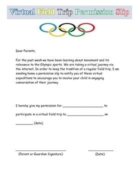 Olympics Virtual Field Trip