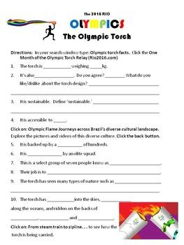 Olympics Web Quest