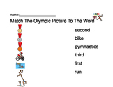 Olympics Word to Picture Matching