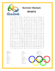 Olympics Wordsearch - FREE Word Searches based on the Rio