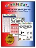 Olympistats Center Olympics Mean Median Mode Range
