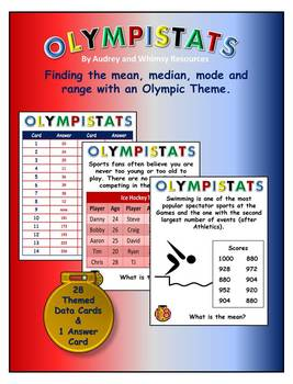 Olympistats Center Olympics Mean Median Mode Range