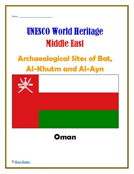 (Middle East GEOGRAPHY) Oman:Archaeological Sites of Bat, Al-Khutm and Al-Ayn