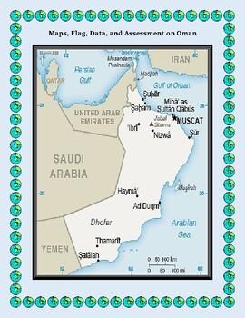 Oman Geography Maps, Flag, Data, Assessment - Map Skills Data Analysis