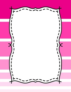 Ombre Binder Covers {EDITABLE}