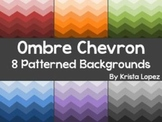 Ombre Chevron - 8 Digital Backgrounds