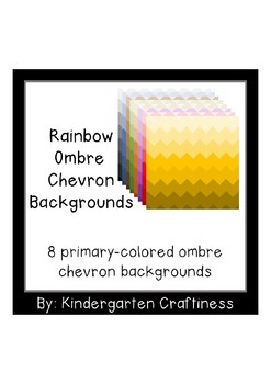 Ombre Chevron Backgrounds