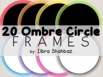 Frames: Ombre Circles
