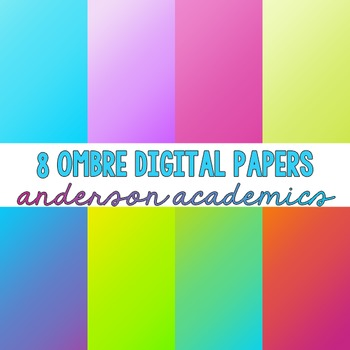 Ombre Digital Papers