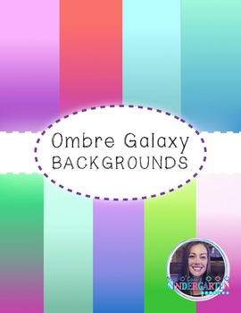 Ombre Galaxy Backgrounds