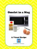 Omelet in a Mug Visual Recipe