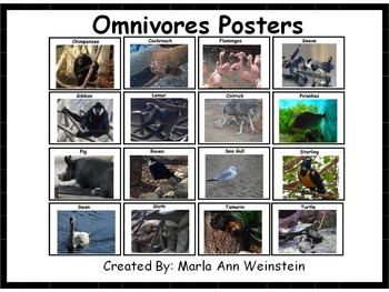 Omnivores Posters