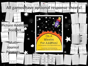 On A Mission for Addition! (Kindergarten K.OA Super-Pack!!)