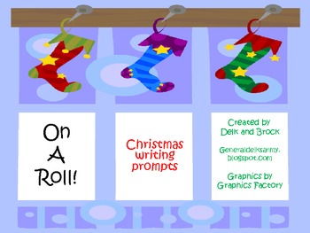 On A Roll! Christmas Writing Prompts