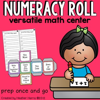 Numeracy Roll Match Center