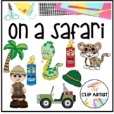 Safari and Jungle Clipart