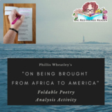 On Being Brought from Africa to America by Phillis Wheatle