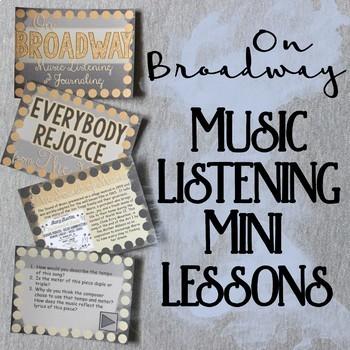 On Broadway Music Listening