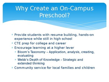 On-Campus Preschool