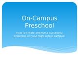 On-Campus Preschool