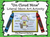 """On Cloud Nine"" Idiom Art Activity"