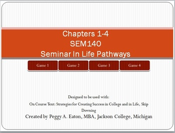 On Course Review Ch 1-4 PowerPoint
