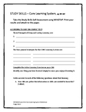 On Course Study Skills Chapter Worksheets