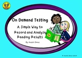 On Demand Testing - A Simple Way to Record and Analyse Tes