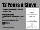 On-Demand Writing Assignment-12 Years a Slave